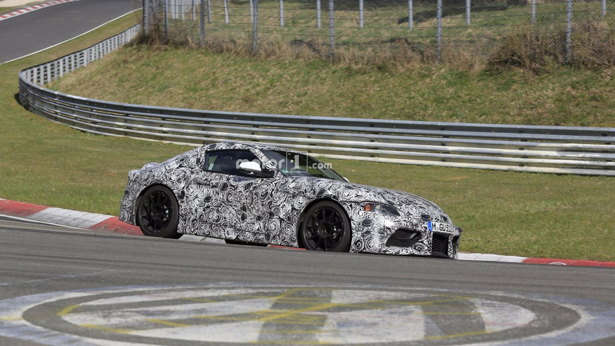 2018 Toyota Supra Prototype Looks And Sounds Fast On The 'Ring