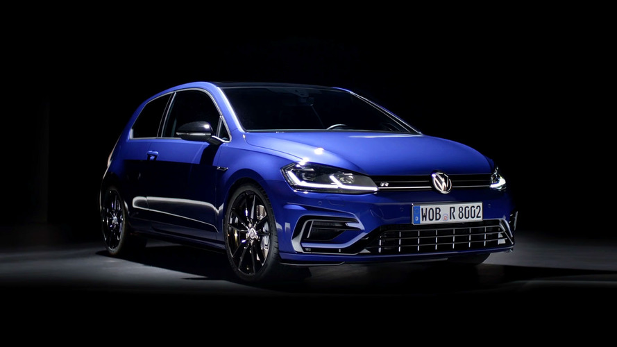 VW Golf R With Performance Pack Shows Off Its Goods In Slick Video