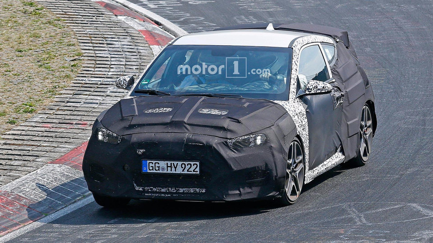 Hyundai Veloster N Hot Hatch Spied During Nurburgring Workout