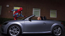 Audi A8 Spider-Man Debut