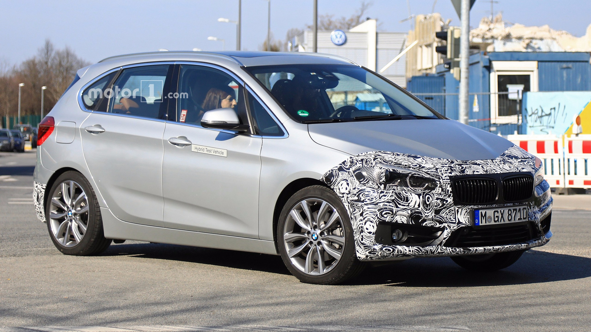 bmw 2 series active tourer spied hiding nip and tuck. Black Bedroom Furniture Sets. Home Design Ideas