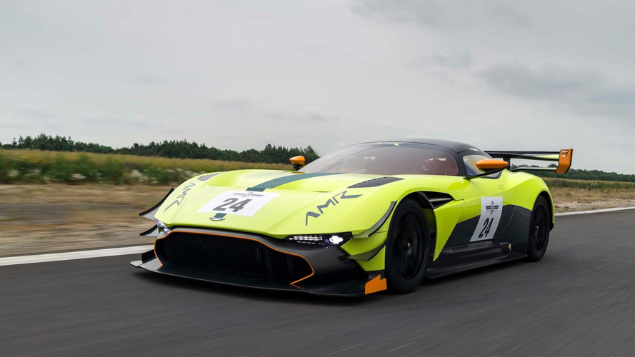 L'Aston Martin Vulcan va faire ses débuts en course en marge des 24 Heures du Mans