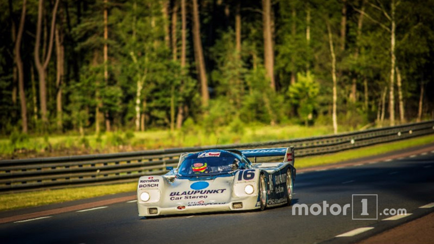 Zak Brown sweeps Porsche 962 to class victory at Le Mans Classic