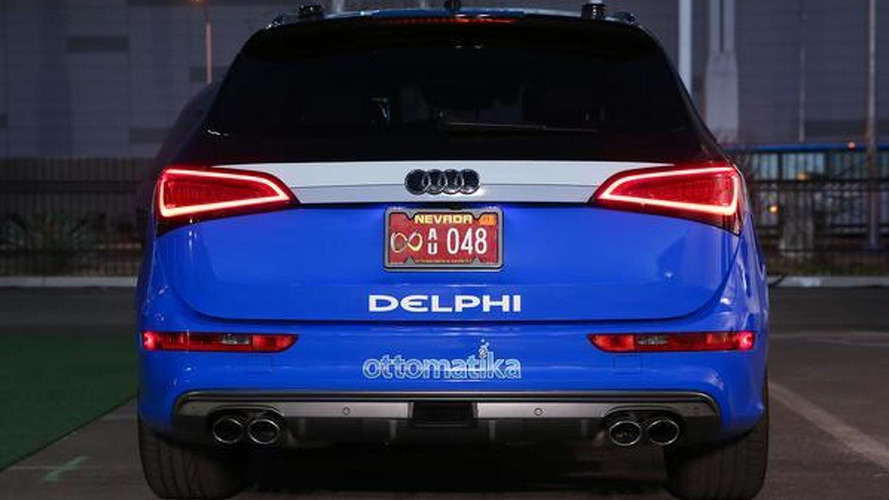 Delphi's autonomous Audi S Q5 will embark on a coast-to-coast trip [video]