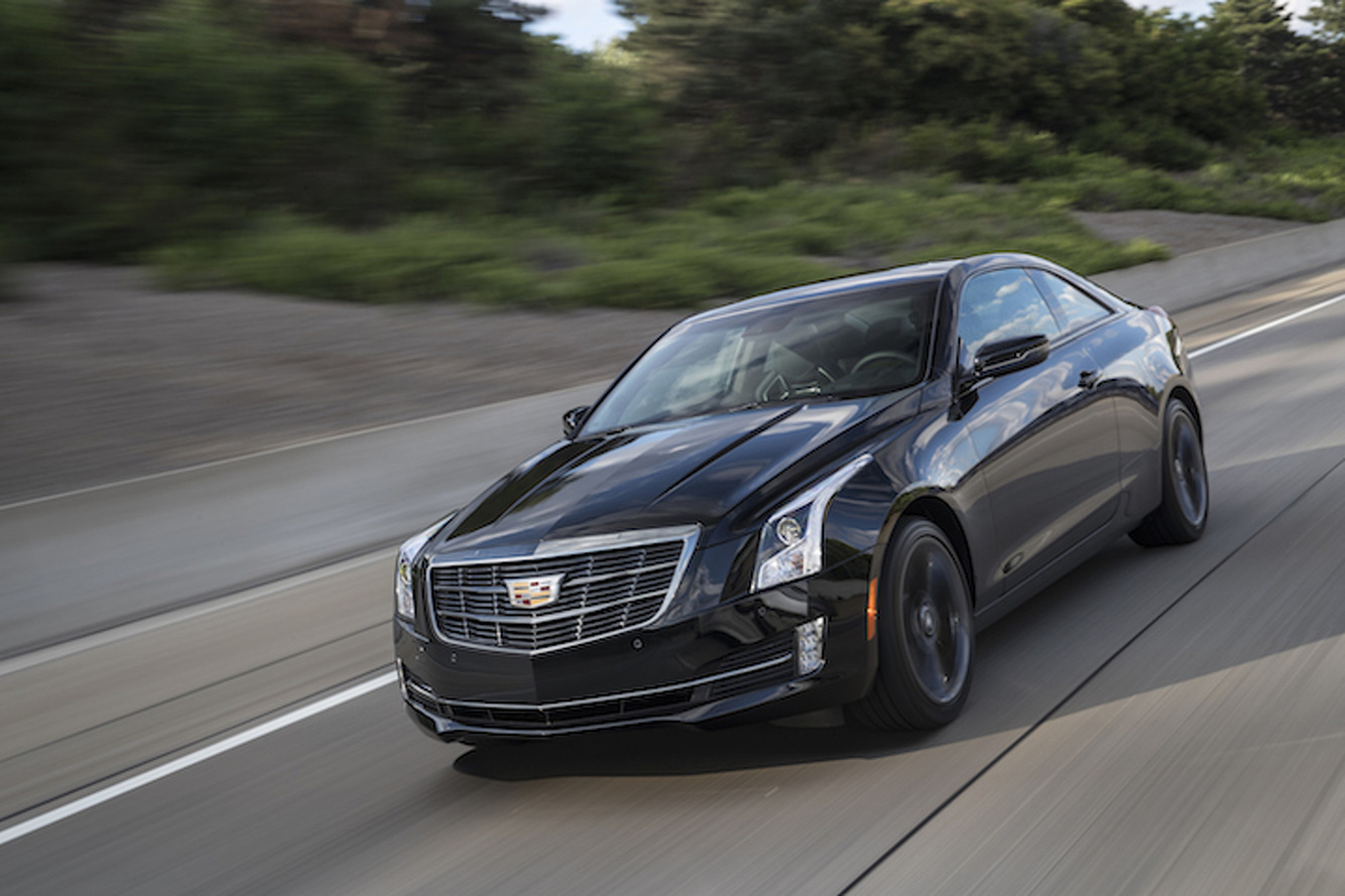 2017 Cadillac ATS 'Carbon Black' Aims to Impress Enthusiasts