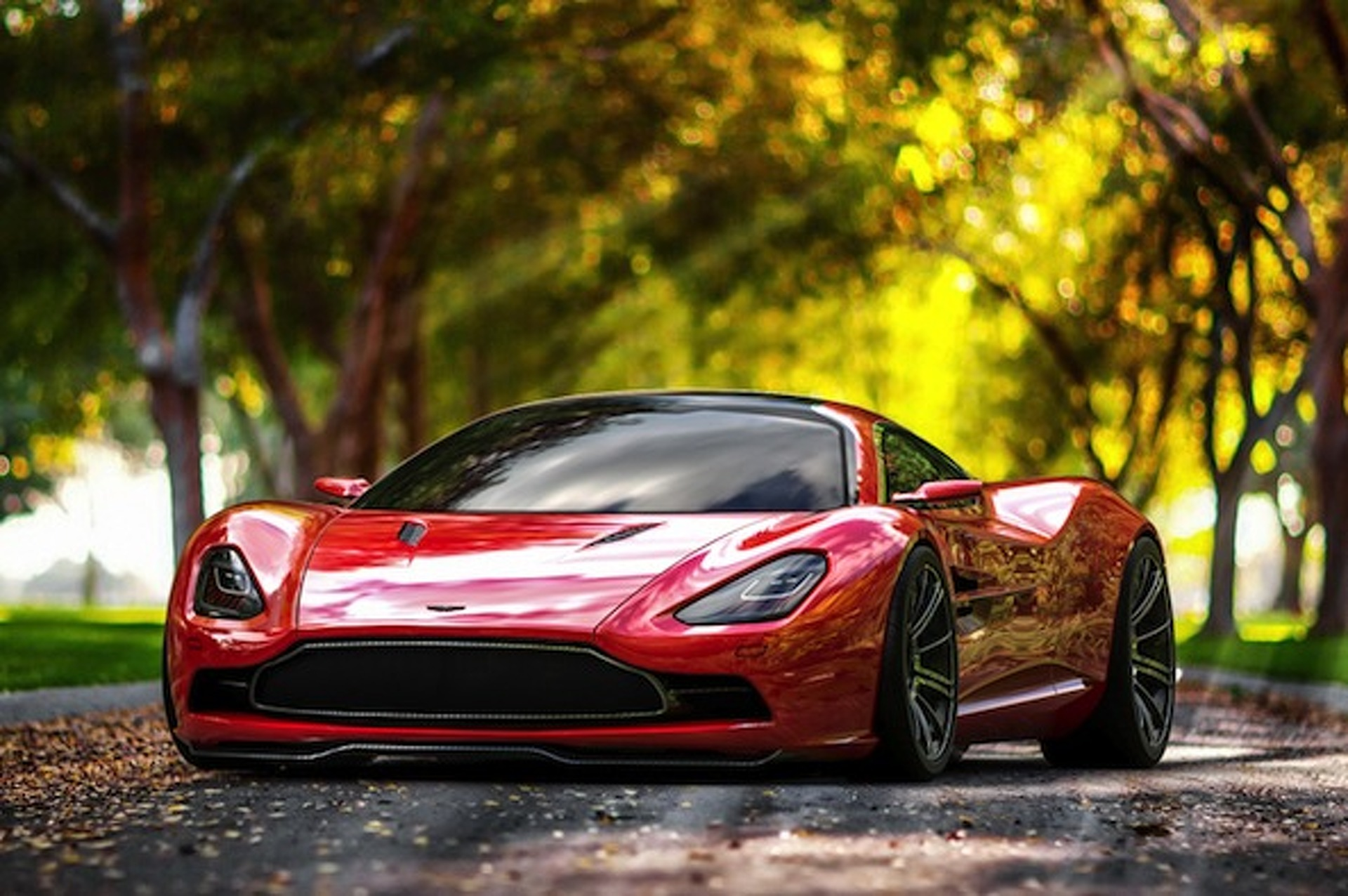 Aston Martin DBC Concept: The British Supercar We've Been Longing For