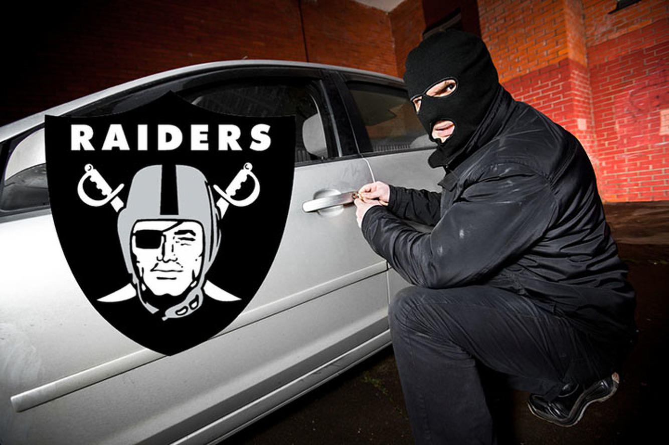 Survey Links NFL Teams to Cars, Most Think Raiders Steal Them