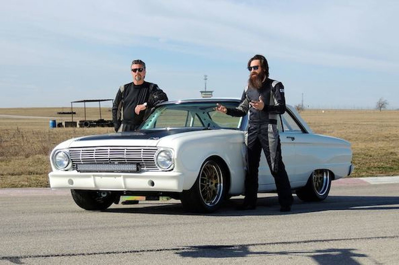 Ford Pantera Project Car For Sale >> Gas Monkey Garage Headed to Pikes Peak in 500-HP Custom Ford Falcon