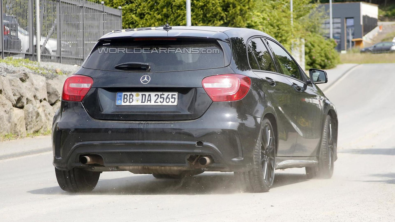 Mercedes-Benz A45 AMG Black Series 20.08.2013 spy photo