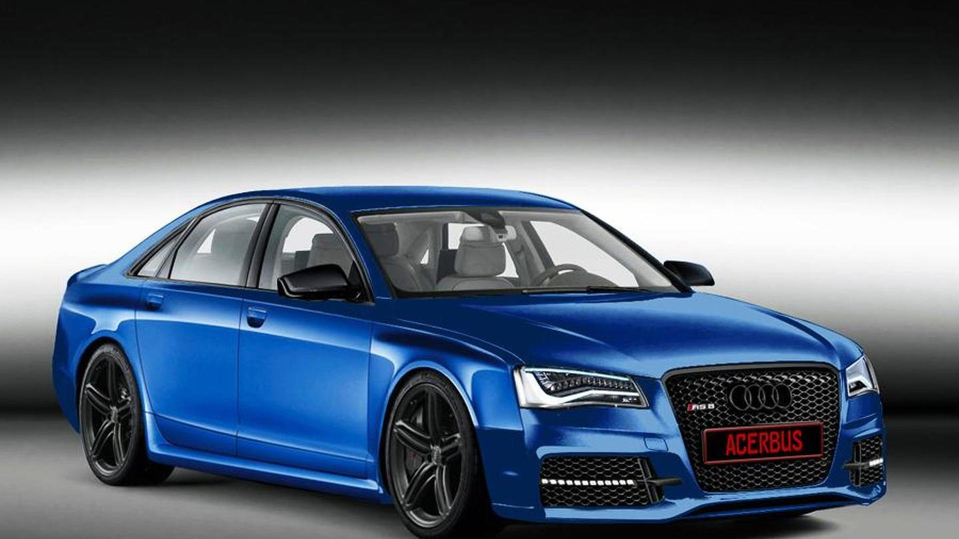 audi rules out an rs8 report. Black Bedroom Furniture Sets. Home Design Ideas