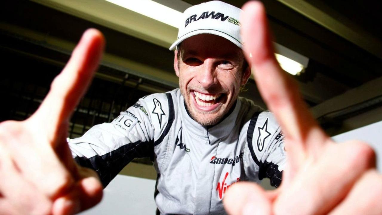 Jenson Button (GBR), Brawn GP, Brazilian Grand Prix, Sunday, Sao Paulo, Brazil, 18.10.2009