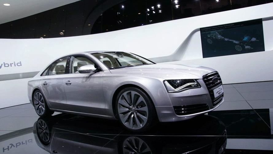 Audi A8 Hybrid Graces the Geneva Stage