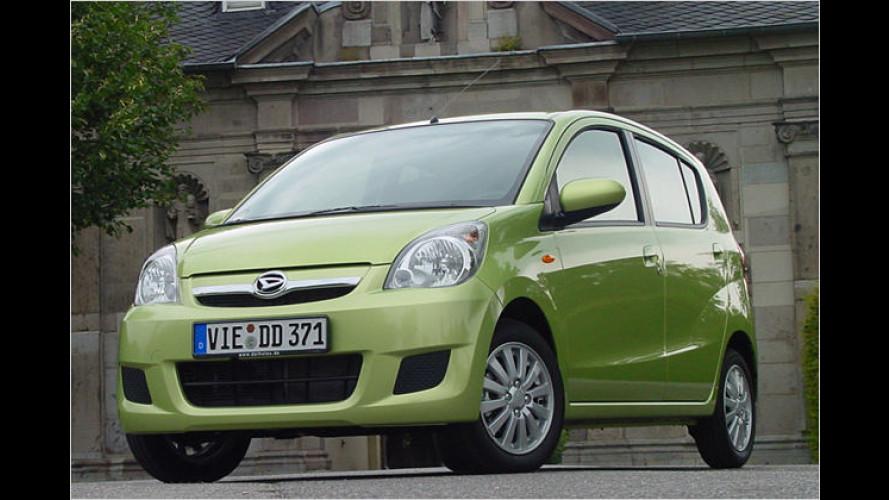 CooLine-Sondermodelle von Daihatsu mit Gratis-Klimaanlage