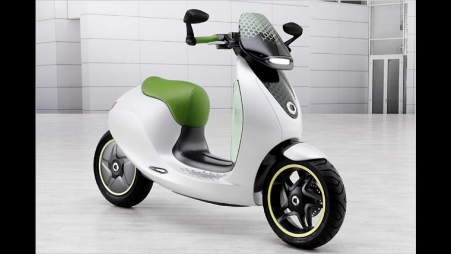 Smart Escooter: Elektroroller mit Smartphone als Tacho