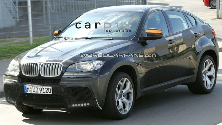 High-Powered BMW X6 50iS Spied