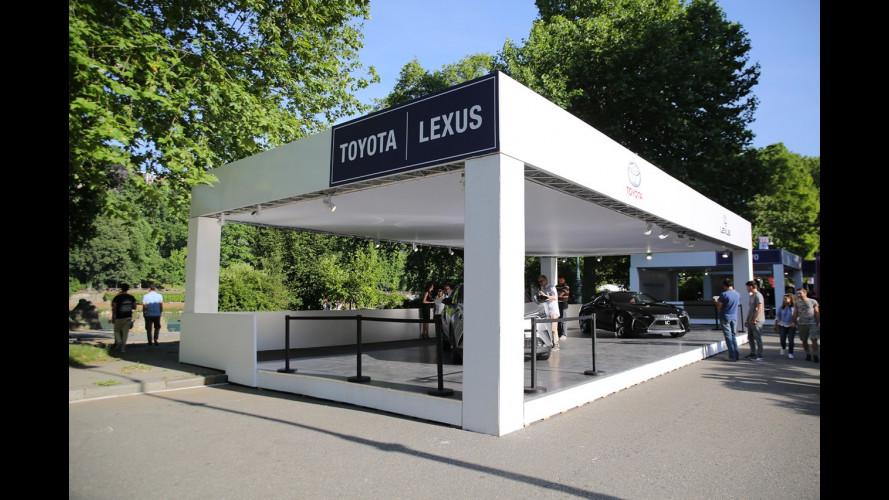 Lexus a Parco Valentino 2017