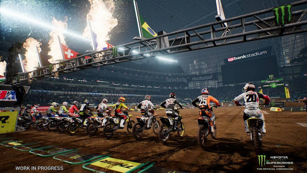 Monster Energy Supercross - The Official Videogame, by Milestone