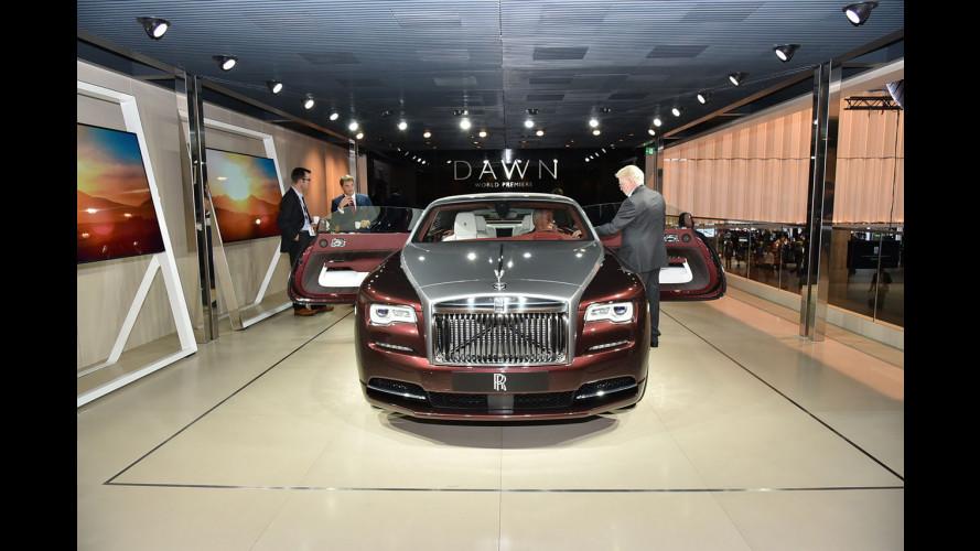 Rolls-Royce al Salone di Francoforte