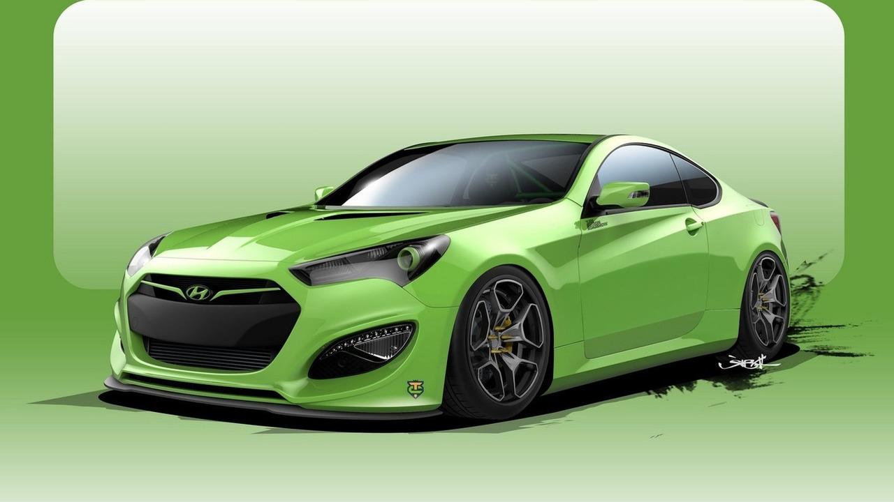 Hyundai Genesis Coupe Tjin Edition