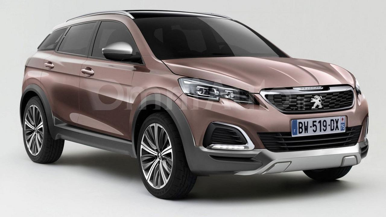 2016 Peugeot 3008 render