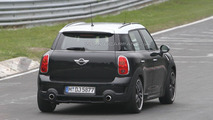 MINI Countryman JCW spied at the Nürburgring
