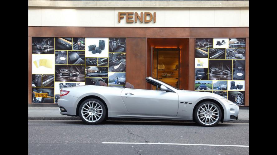 Gli accessori Maserati sono firmati Fendi