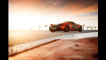 La McLaren P1 concept sul circuito del Bahrain