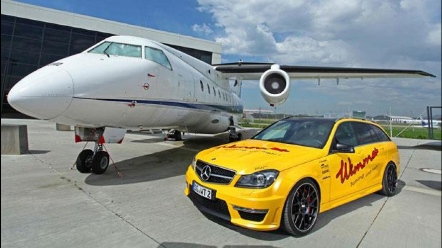 Mercedes C 63 AMG Station Wagon by Wimmer
