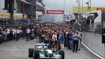 Mick Schumacher Benetton F1-1