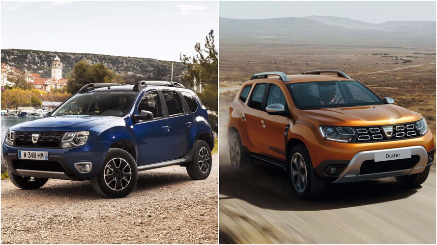 2018 Dacia Duster: See The Changes Side-By-Side