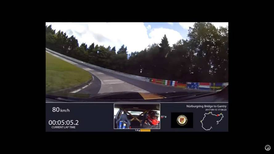 630 beygirlik BMW M2 Nürburgring'de