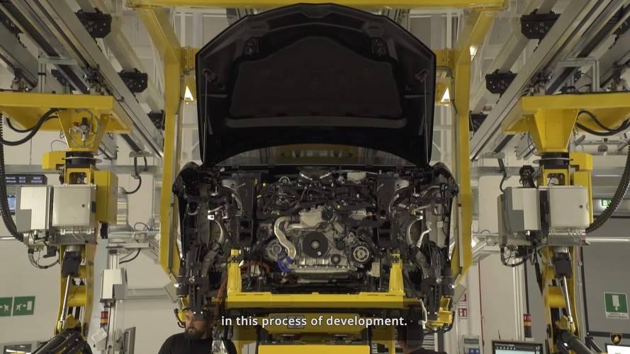 Lamborghini Urus Shows Engine, Bodyshell In New Teaser Video