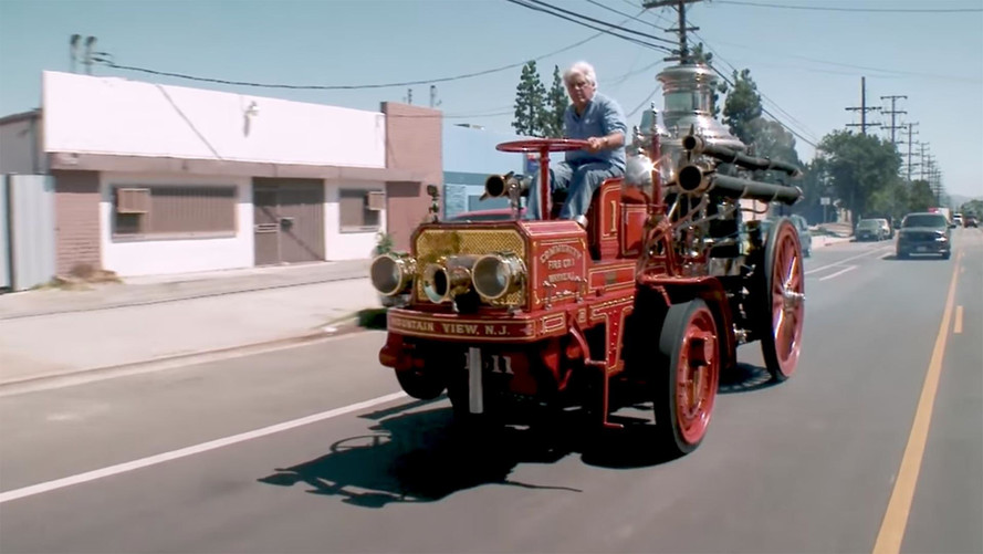 Jay Leno Is Ready To Fight Blazes In His 1911 Fire Engine