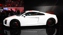 Audi R8 V10 RWS live in Frankfurt