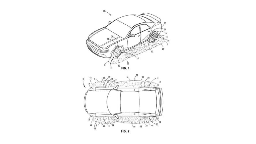 Ford çok amaçlı tekerlek aydınlatmasının patentini aldı