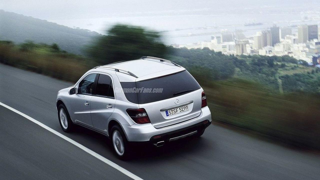Mercedes-Benz MLX SUV artist interpretation