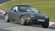 Mazda MX-5 Spy Shot at Nürburgring