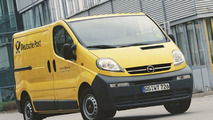 Opel Vivaro panel van for Deutsche Post World Net