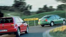 VW Golf and Bora FSI