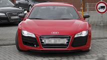 Audi R8 e-tron prototype testing spy photo