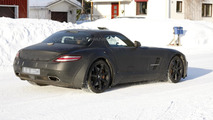 2013 Mercedes SLS AMG Black Series spy photo