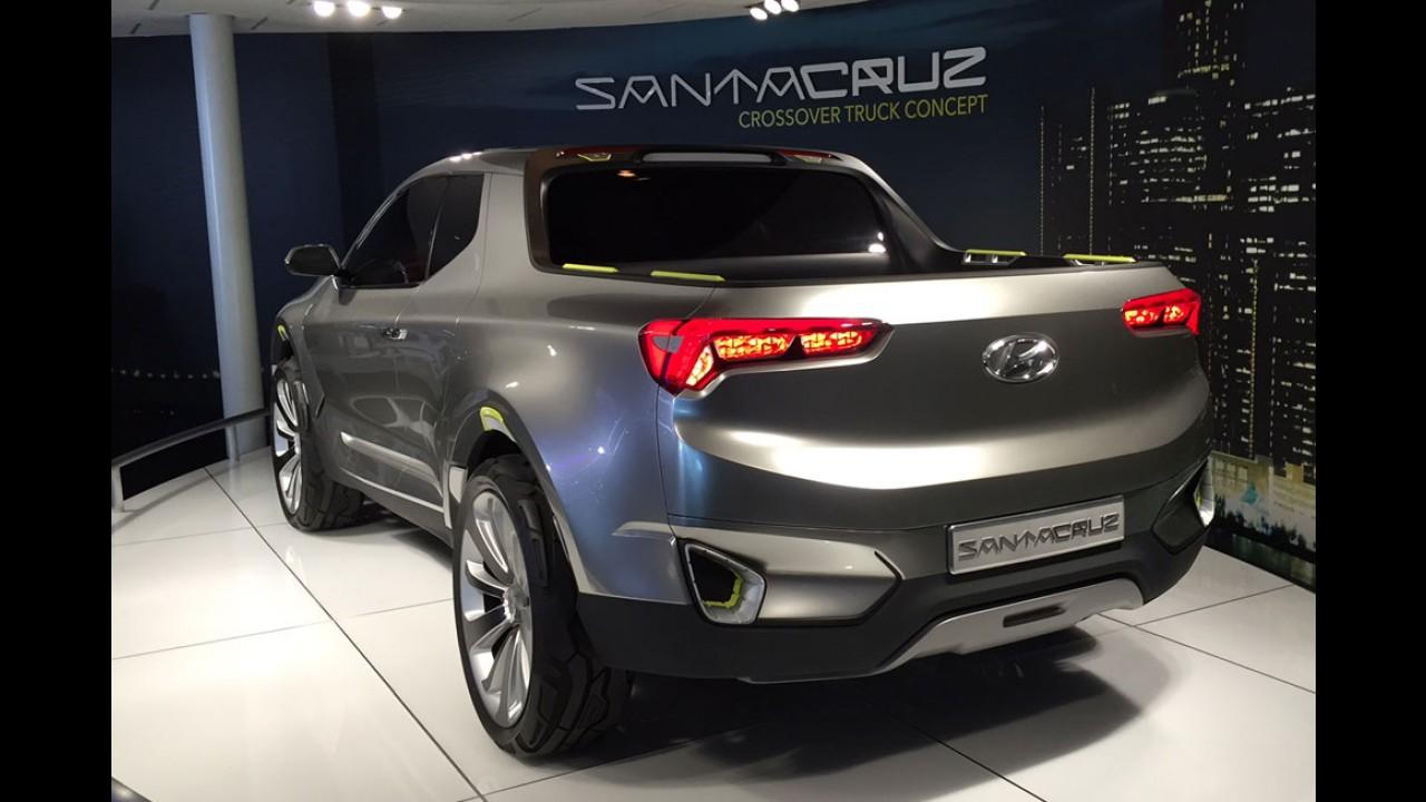 Na proposta da Fiat Toro, Hyundai Santa Cruz terá equivalente da Kia