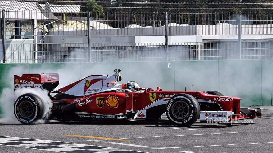 Sebastian Vettel, Scuderia Ferrari demonstration