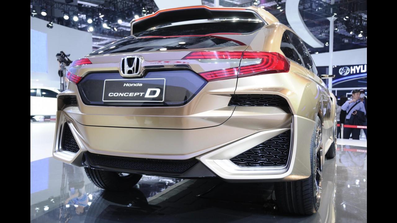 """Com visual """"exagerado"""", Honda Concept D antecipa nova linha de crossovers"""