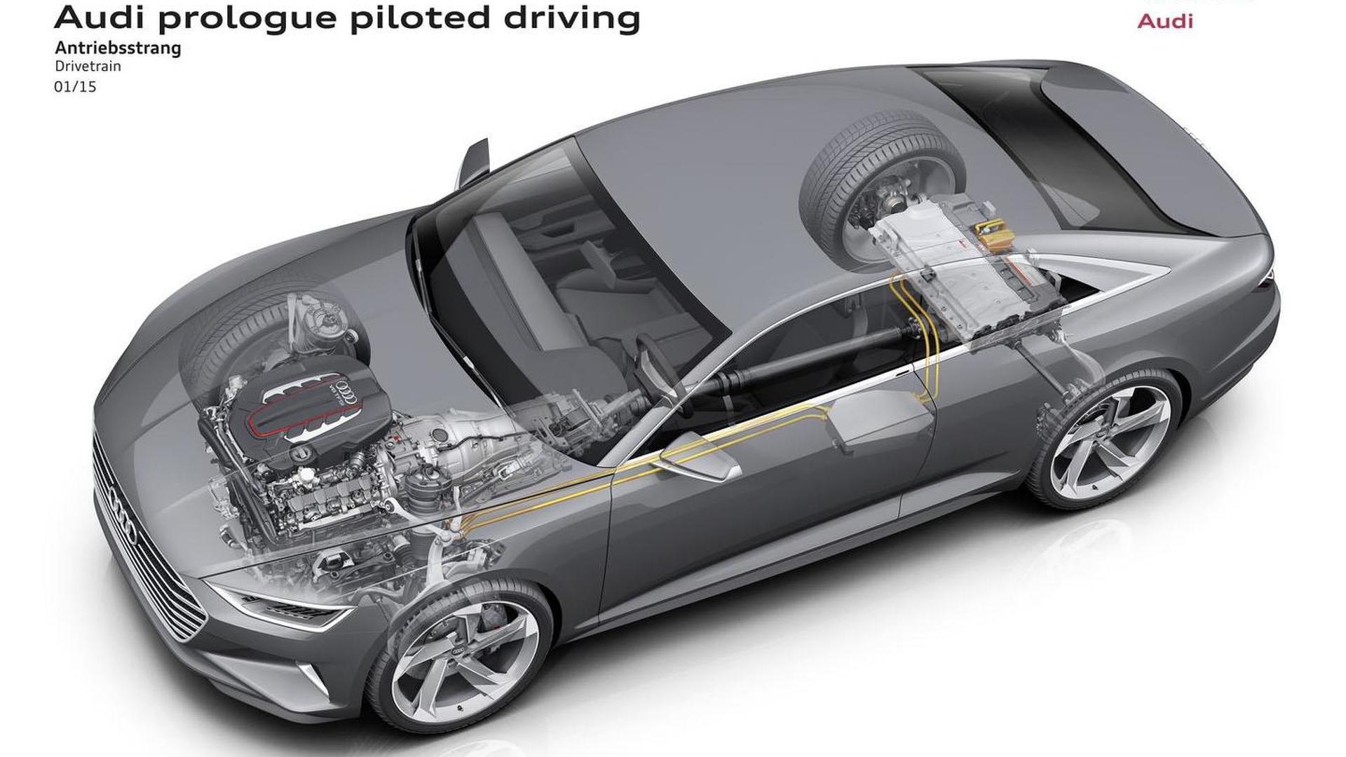 Шасси Мультируль Audi Prologue Piloted Driving