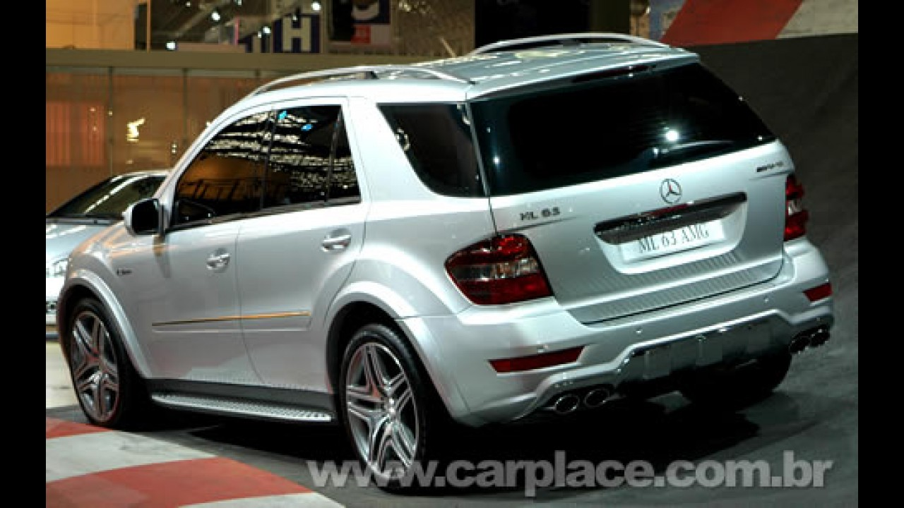 Salão do Automóvel 2008 - Mercedes ML 63 AMG com motor V8 de 510 cavalos!!