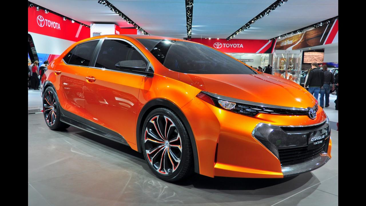 Toyota Королла 2017 года новая #11