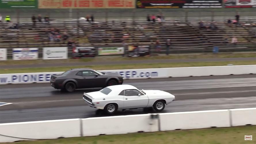 Kuşaklar arası savaş: '72 Model Challenger, Demon'a karşı