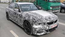 BMW 3 Series Sedan Spy Shots