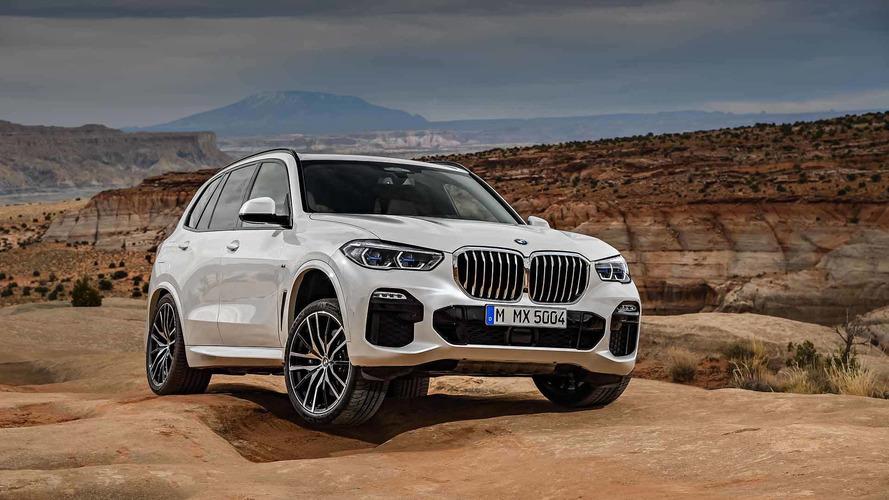 BMW X5'in resmi videolarına bir göz atın
